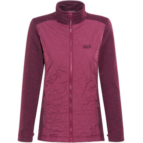 Jack Wolfskin Caribou Crossing Altis Jacket Women dark ruby